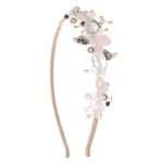 New Rose Side Tiara Small